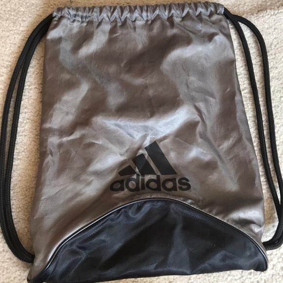 Adidas draw string bag.